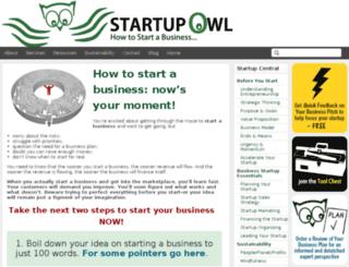 startupowl.com screenshot