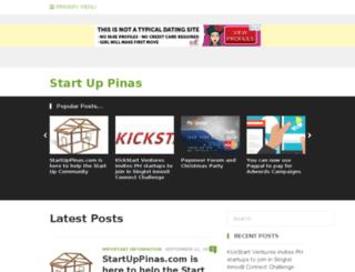 startuppinas.com screenshot