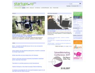 startups.ro screenshot