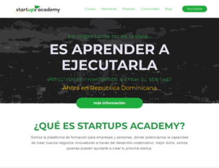startupsacademy.co screenshot