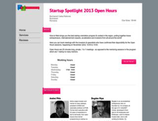startupspotlight.simplybook.me screenshot