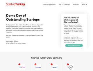 startupturkey.com screenshot