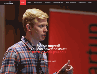 startupweek.weebly.com screenshot