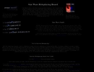 starwarsexodus.com screenshot