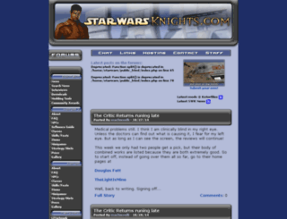 starwarsknights.com screenshot