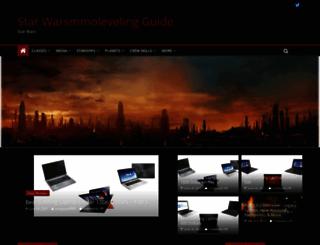 starwarsmmolevelingguide.com screenshot