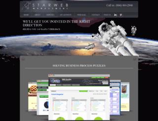 starwebmanagement.com screenshot