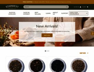 starwest-botanicals.com screenshot