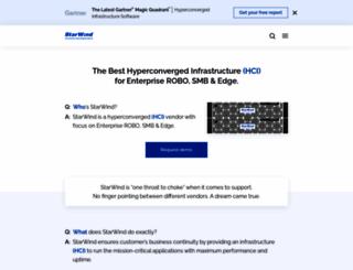 starwindsoftware.com screenshot