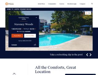 stassneywoods.maac.com screenshot