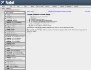 stat.fonbet.info screenshot