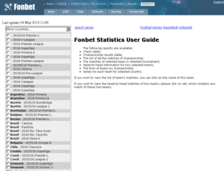 stat.fonsportsbet.com screenshot