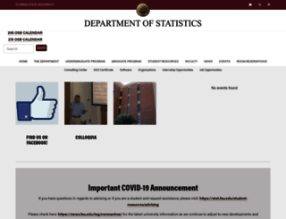 stat.fsu.edu screenshot
