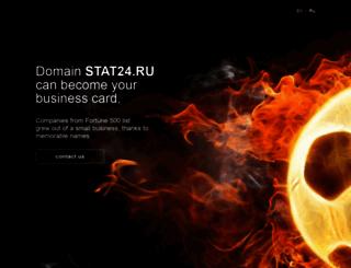 stat24.ru screenshot