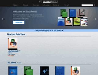 stata-press.com screenshot