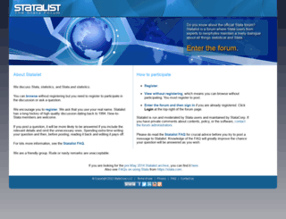 statalist.org screenshot
