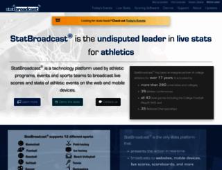 statbroadcast.com screenshot