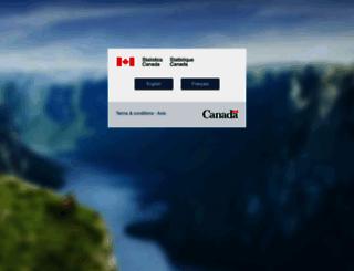 statcan.gc.ca screenshot