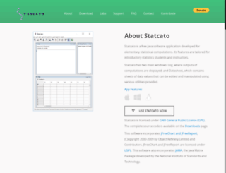 statcato.org screenshot