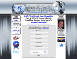 state-of-the-art-mailer.com screenshot