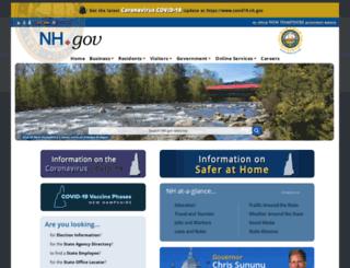 state.nh.us screenshot