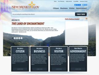state.nm.us screenshot