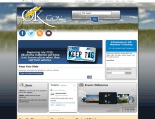 state.ok.us screenshot