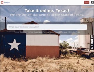 state.tx.us screenshot