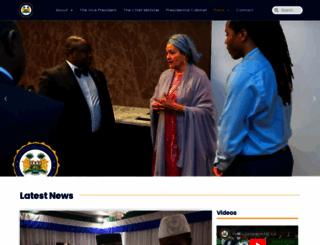 statehouse.gov.sl screenshot