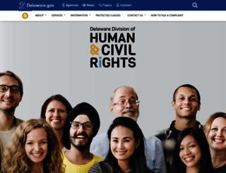 statehumanrelations.delaware.gov screenshot