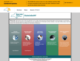 statejobsny.com screenshot