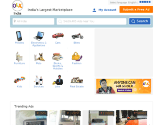 stateofdelhi.olx.in screenshot