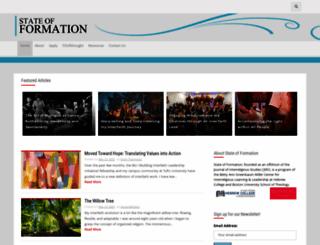 stateofformation.org screenshot