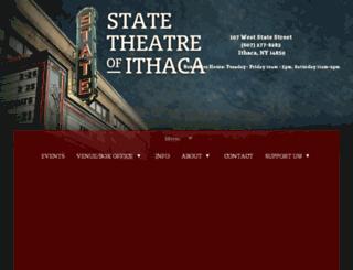 stateofithaca.spacecrafted.com screenshot