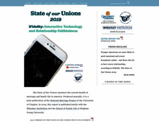 stateofourunions.org screenshot