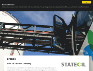 stateoil.co.uk screenshot