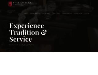 statesvillejewelryandloan.com screenshot