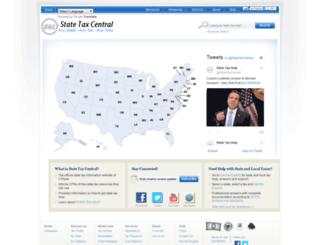 statetaxcentral.com screenshot