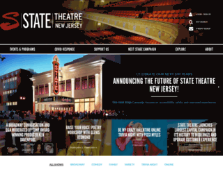 statetheatrenj.org screenshot