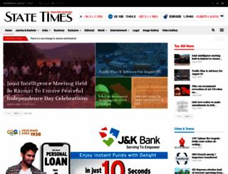 statetimes.in screenshot
