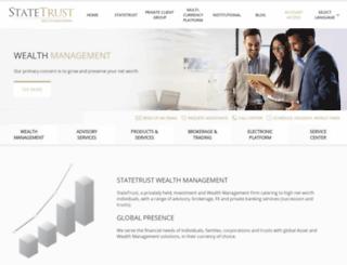 statetrust.com screenshot