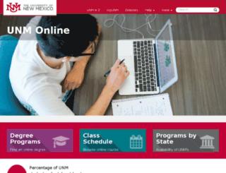 statewide.unm.edu screenshot