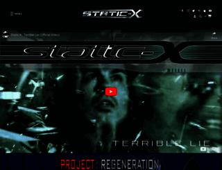 static-x.com screenshot