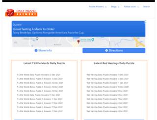 static.dailypuzzleanswers.com screenshot