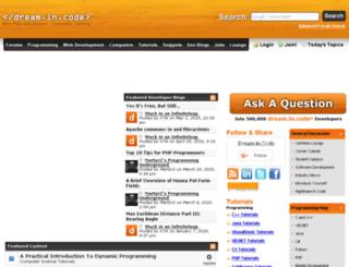 static.dreamincode.net screenshot