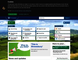 static.shropshire.gov.uk screenshot