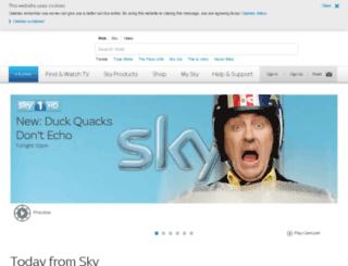 static.sky.com screenshot