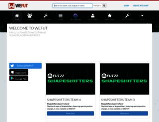 static.wefut.com screenshot