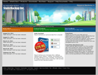 staticbackup.com screenshot