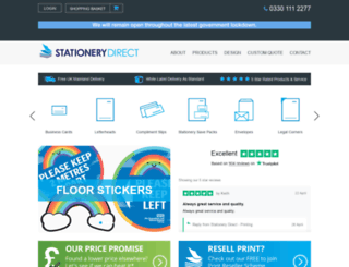 stationery-direct.co.uk screenshot